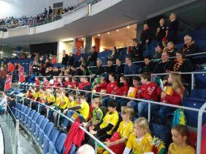Besuch des Länderspiels der Deutschen Nationalmannschaft gegen Tschechien in der TUI Arena